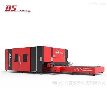 HBDE係列大包圍 雙平台爬坡 板管激光切割機