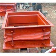 红色硅胶布方形通风口软连接供应价