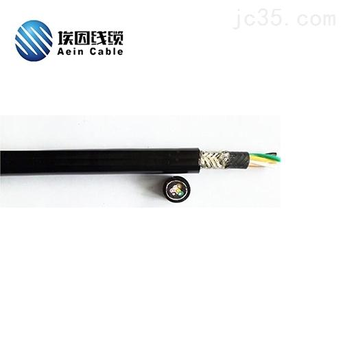 上海易格斯替代线PUR拖链屏蔽电缆低温应用
