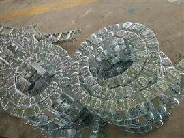 合金铜轴销封闭钢铝拖链