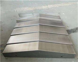 厂家定制导轨伸缩式钢板防护罩