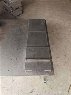 加工定制兄弟钢板伸缩式导轨防护罩