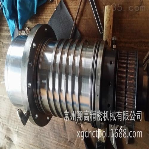 舟山中国台湾旭泰加工中心主轴轴承更换锥孔研磨