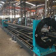 KR-XF8钢结构方型管切割八轴相贯线切割机