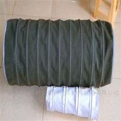 全部帆布钢丝软管 防火耐温通风管风机软连接