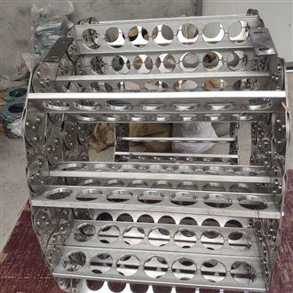 制作加强式钢铝拖链