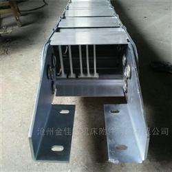全部TLG型钢铝拖链 金属穿线工程钢制拖链
