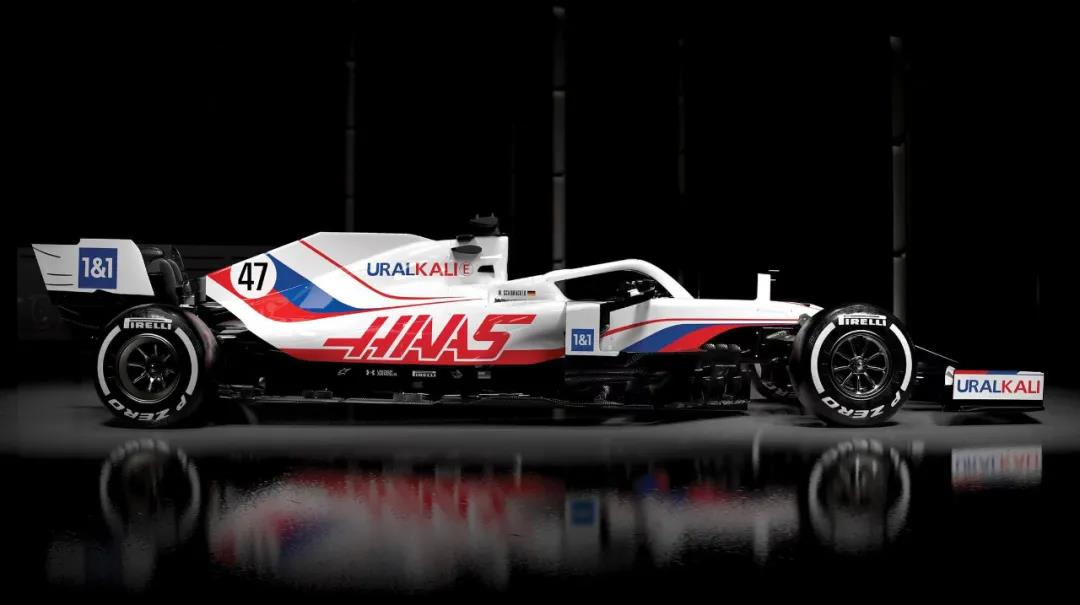 VF-21來了!哈斯F1車隊新賽季賽車涂裝揭曉!