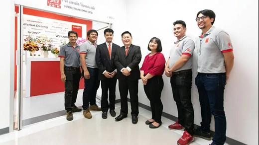 百超新成立泰国分公司